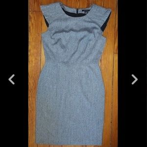 Kenneth Cole NY Dress Pleated Zip Dress Size 6